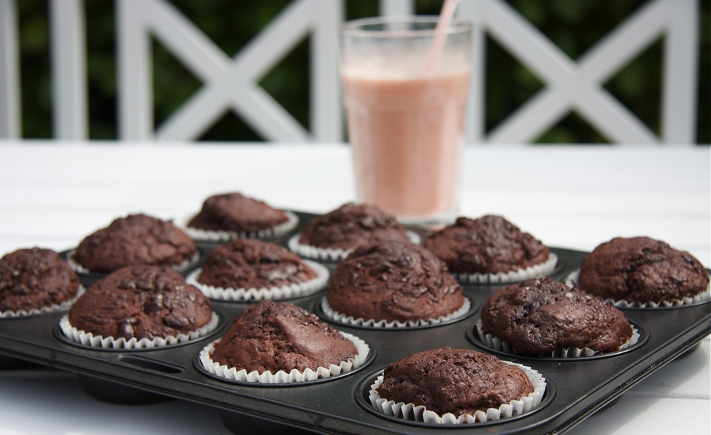 chokolade muffins nemme